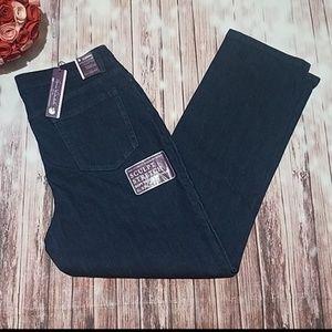 Gloria Vanderbilt Amanda Sz 16 Jeans NWT